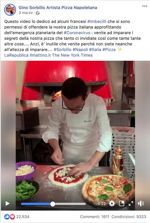 Immagine che contiene interni, persona, uomo, cibo Descrizione generata automaticamente