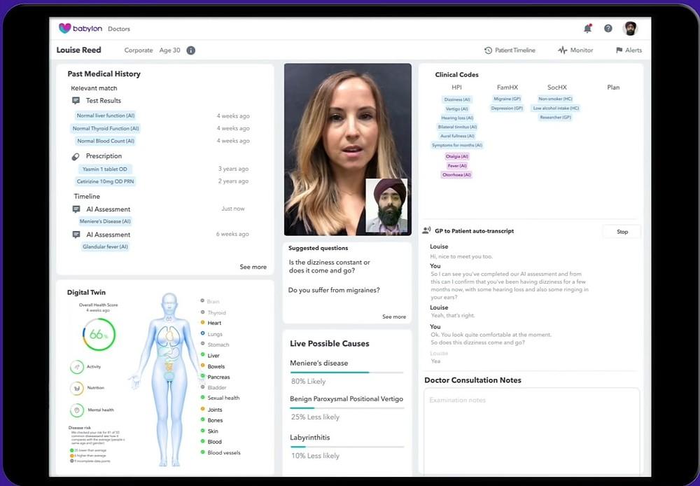 Babylon Health: la sanità pubblica al tempo delle AI